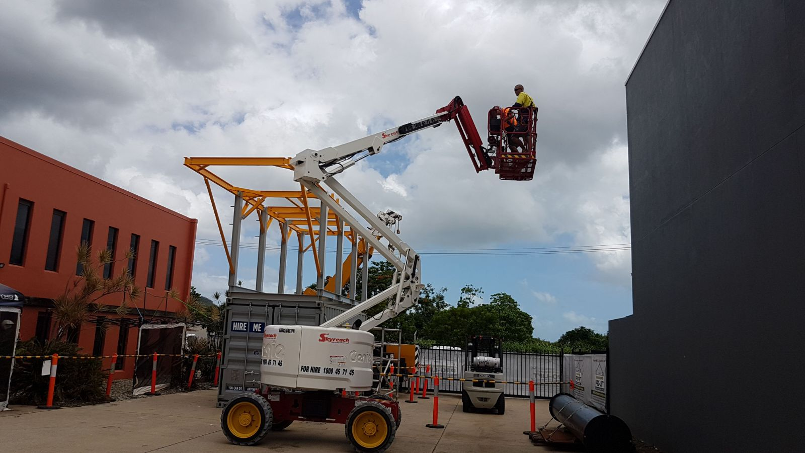 Elevated Work Platform Licence Training Cairns
