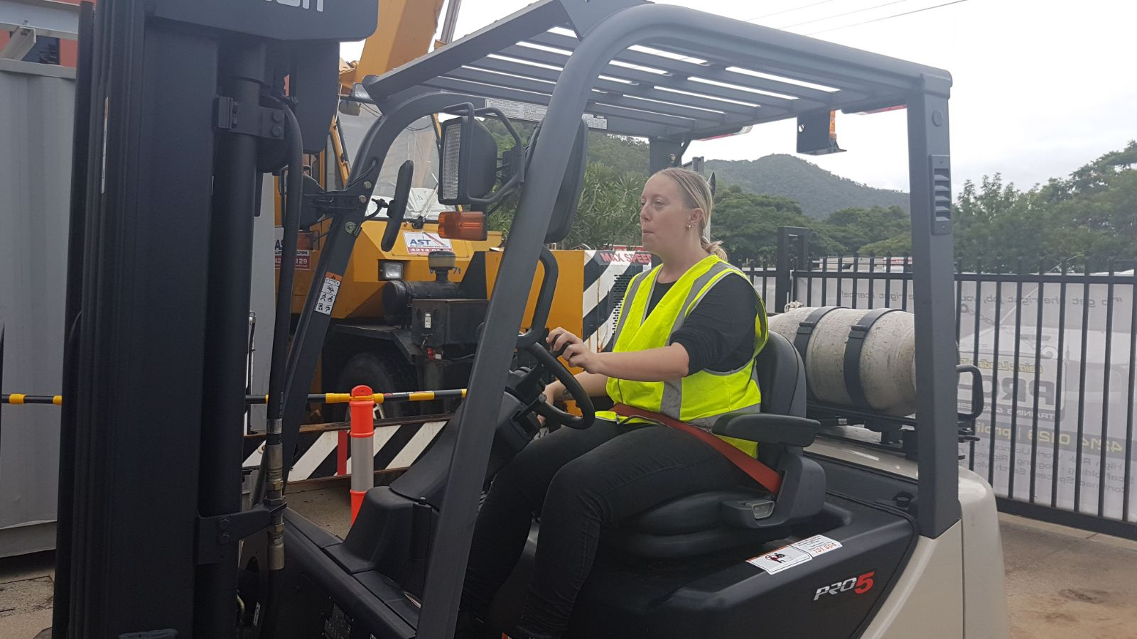 Women in Training, forklift licence training Cairns North