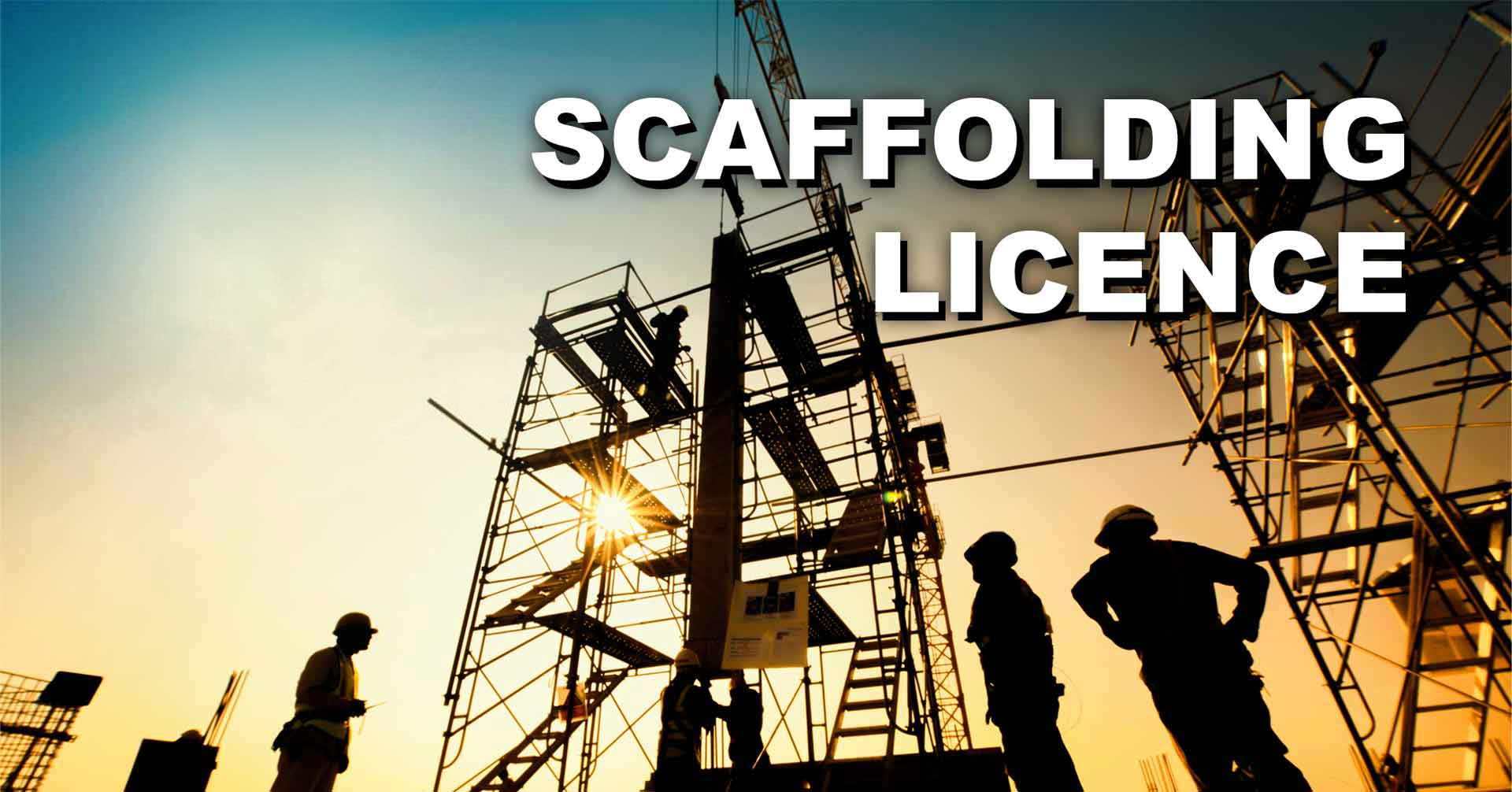 Scaffolding Licence Cairns