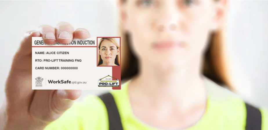 General Construction Induction Card (White Card)